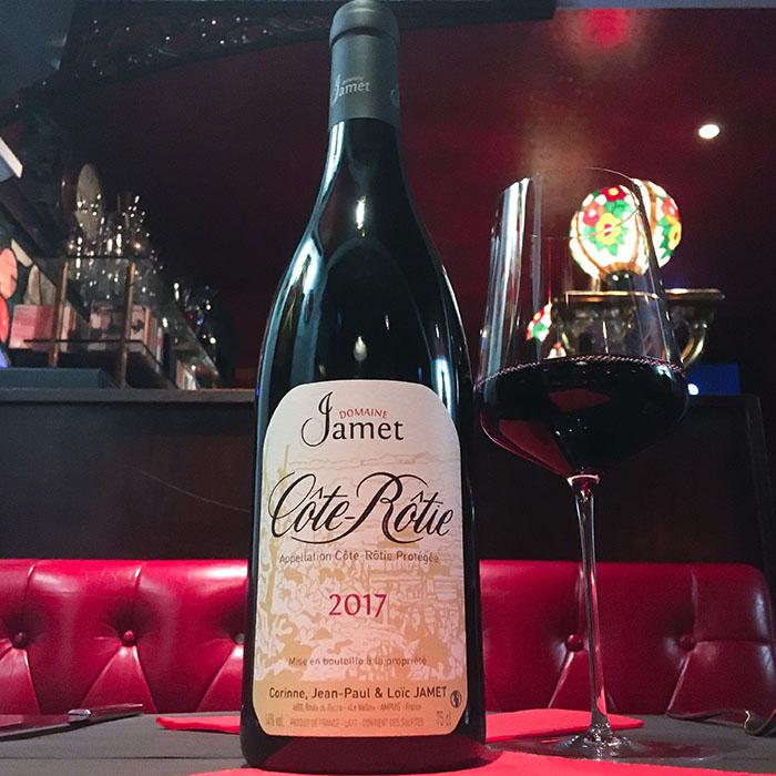 Domaine Dauvissat Chablis premier cru La Forest, Côte-Rôtie. Vins mythiques et superbe carte des vins au The Glue Pot à Reims.